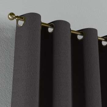 Gardin med öljetter 1 längd 130 x 260 cm i kollektionen Chenille, Tyg: 702-20