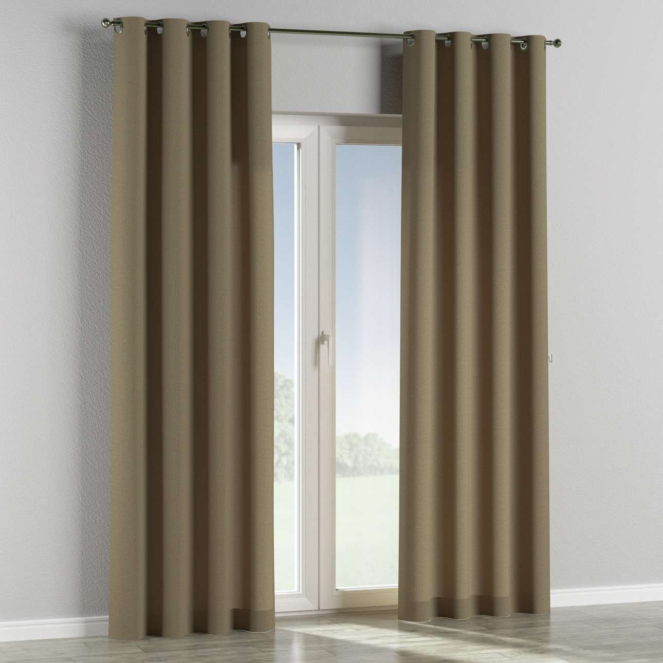 Eyelet curtains in collection Chenille, fabric: 702-21