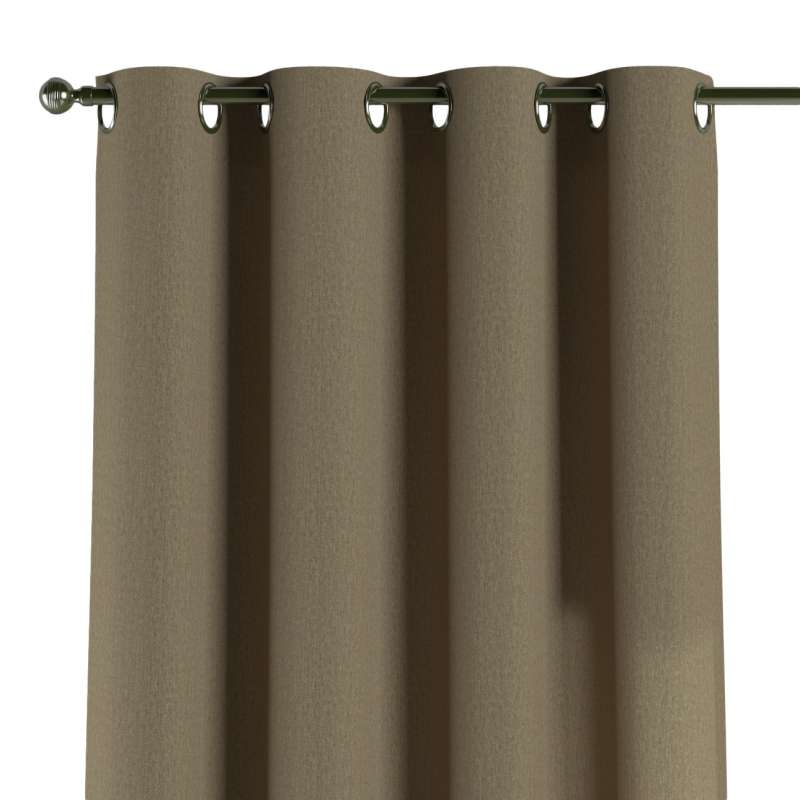 Eyelet curtain in collection Chenille, fabric: 702-21