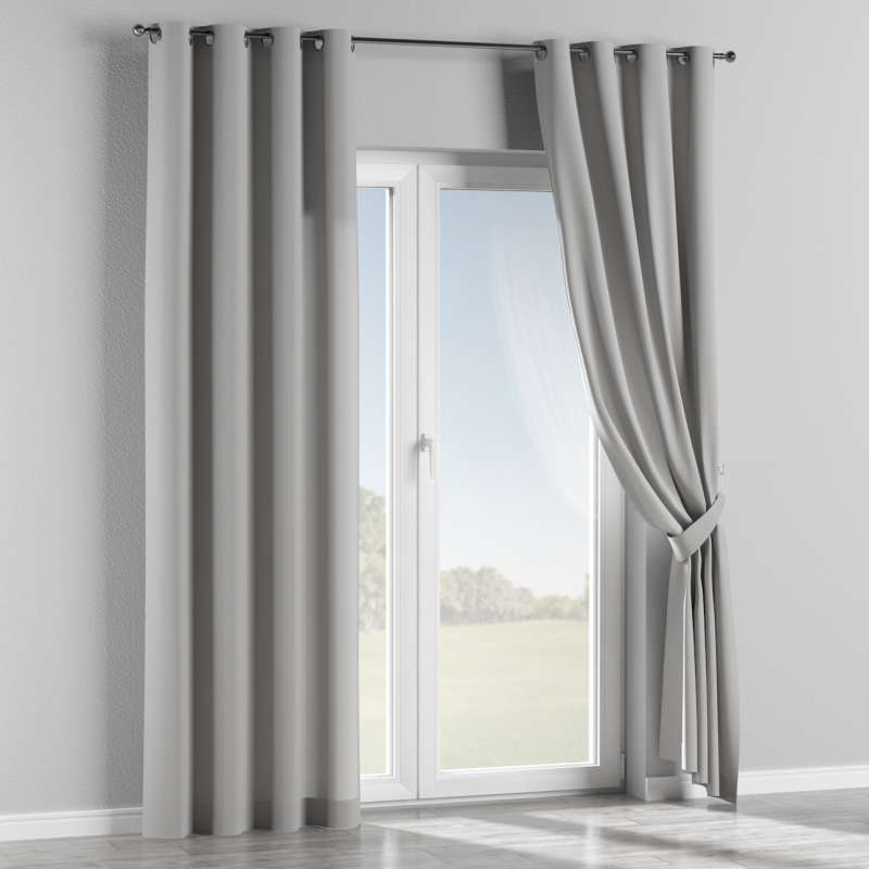 Eyelet curtain in collection Chenille, fabric: 702-23