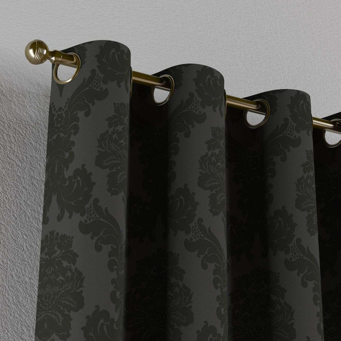Zasłona na kółkach 1 szt. 1szt 130x260 cm w kolekcji Damasco, tkanina: 613-32