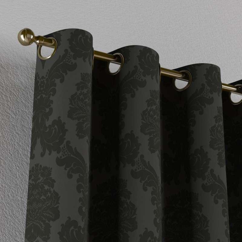 Zasłona na kółkach 1 szt. w kolekcji Damasco, tkanina: 613-32