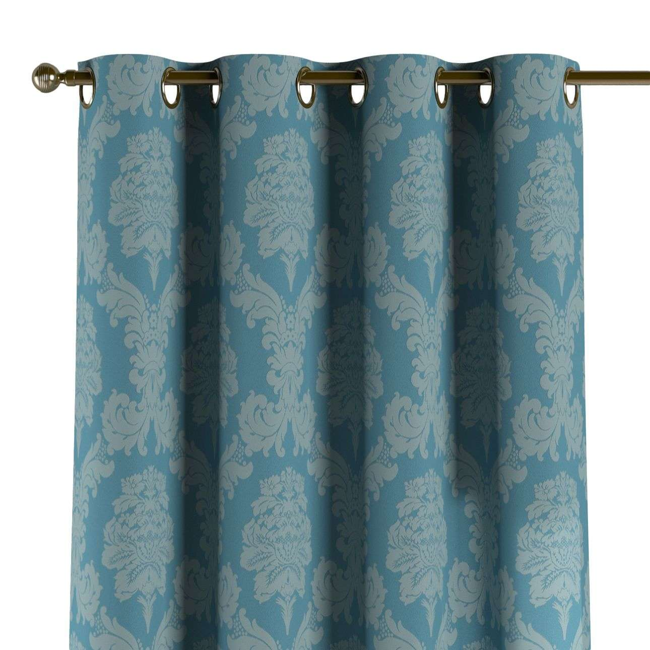 Eyelet curtains 130 x 260 cm (51 x 102 inch) in collection Damasco, fabric: 613-67