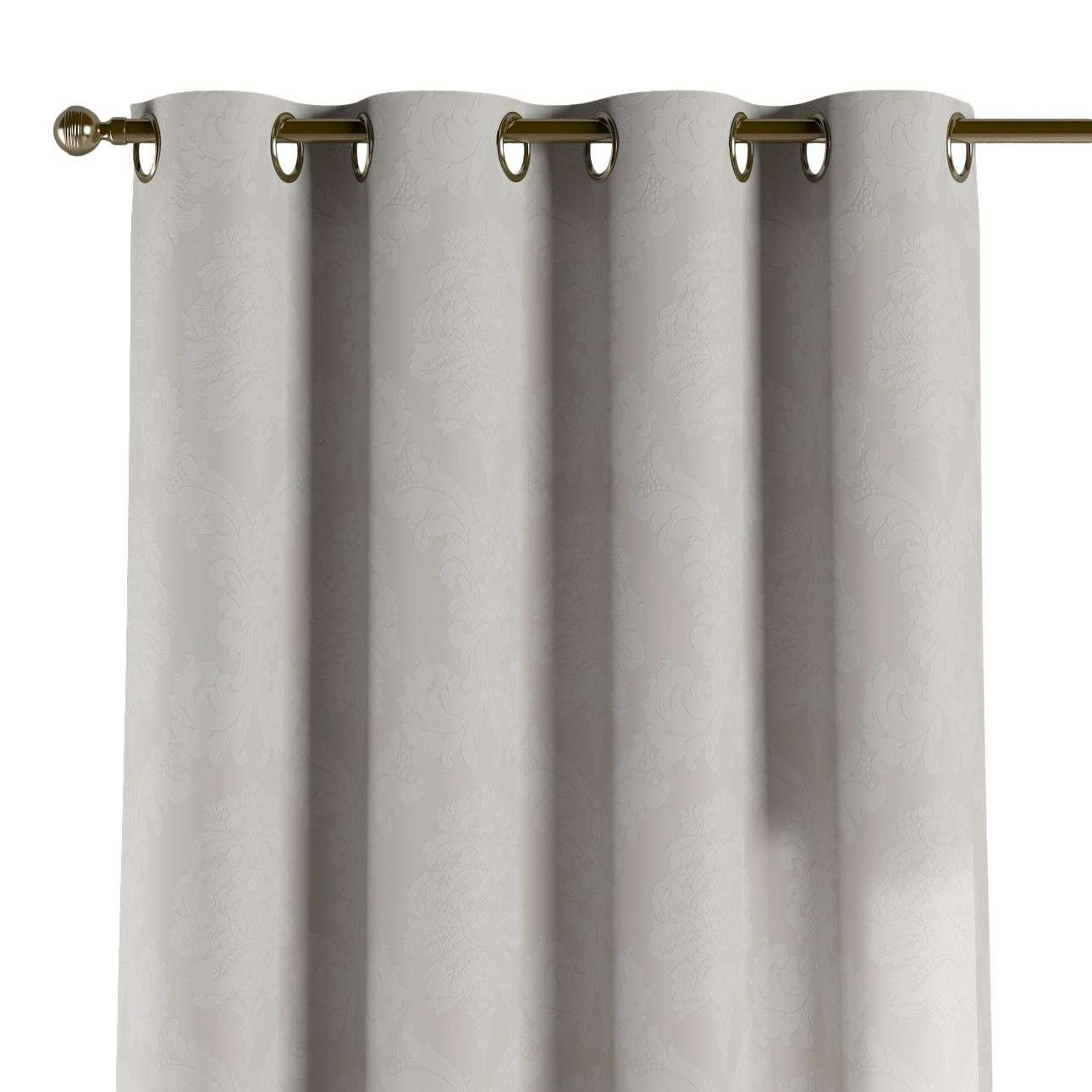Eyelet curtains in collection Damasco, fabric: 613-81