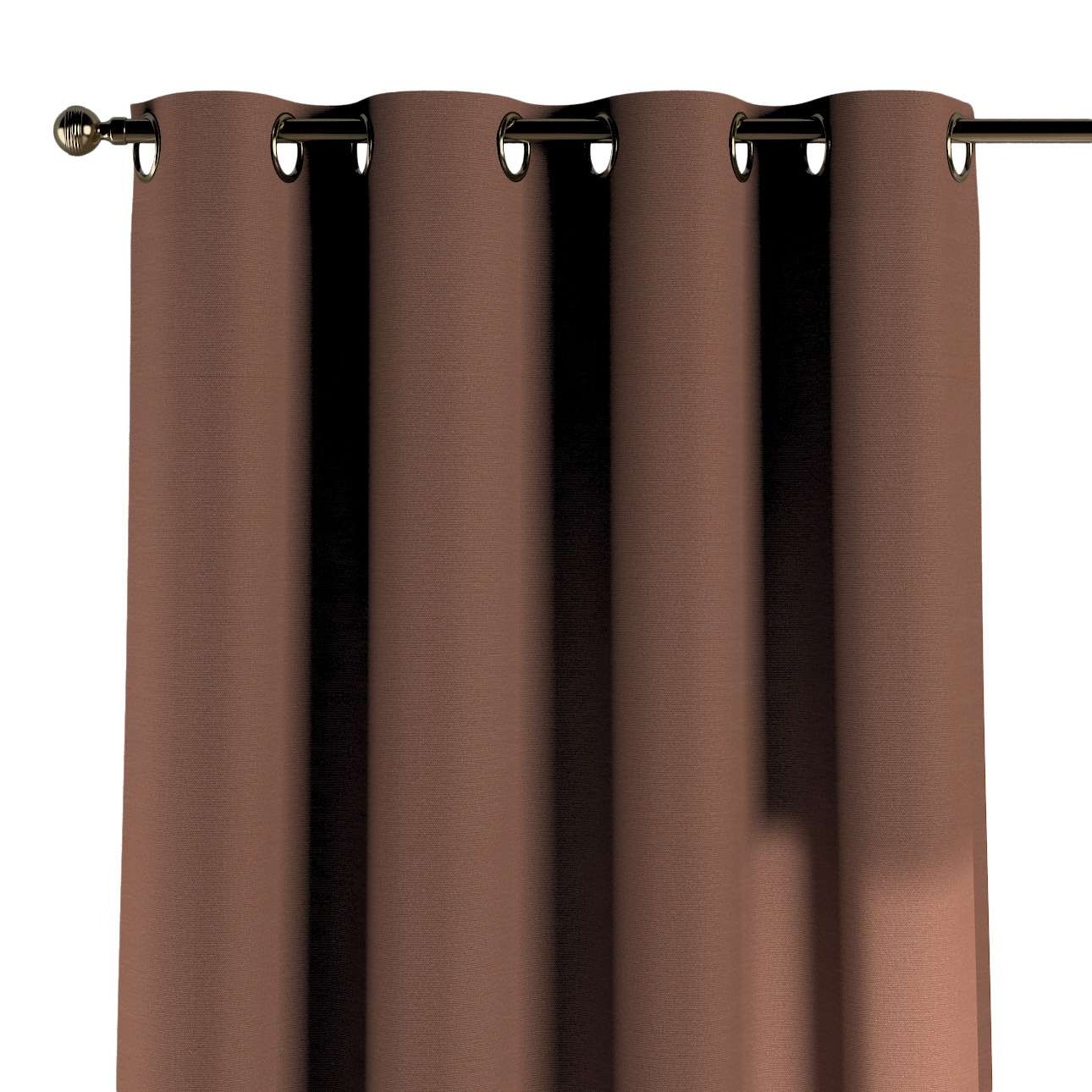 Gardin med maljer 1 stk. 130 x 260 cm fra kolleksjonen Loneta, Stoffets bredde: 133-09