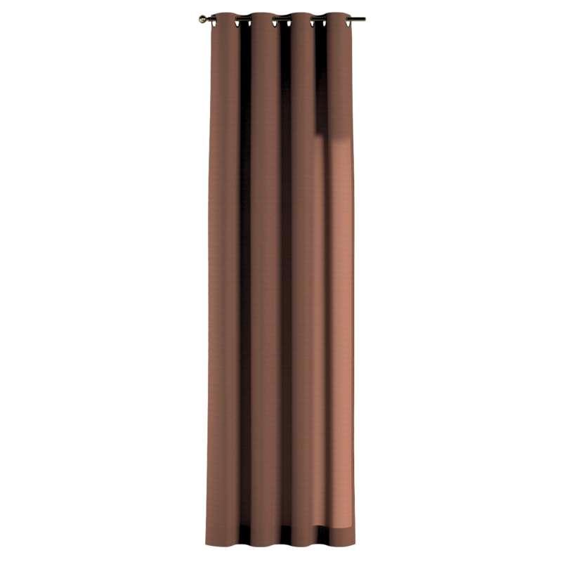 Gardin med öljetter 1 längd i kollektionen Loneta, Tyg: 133-09