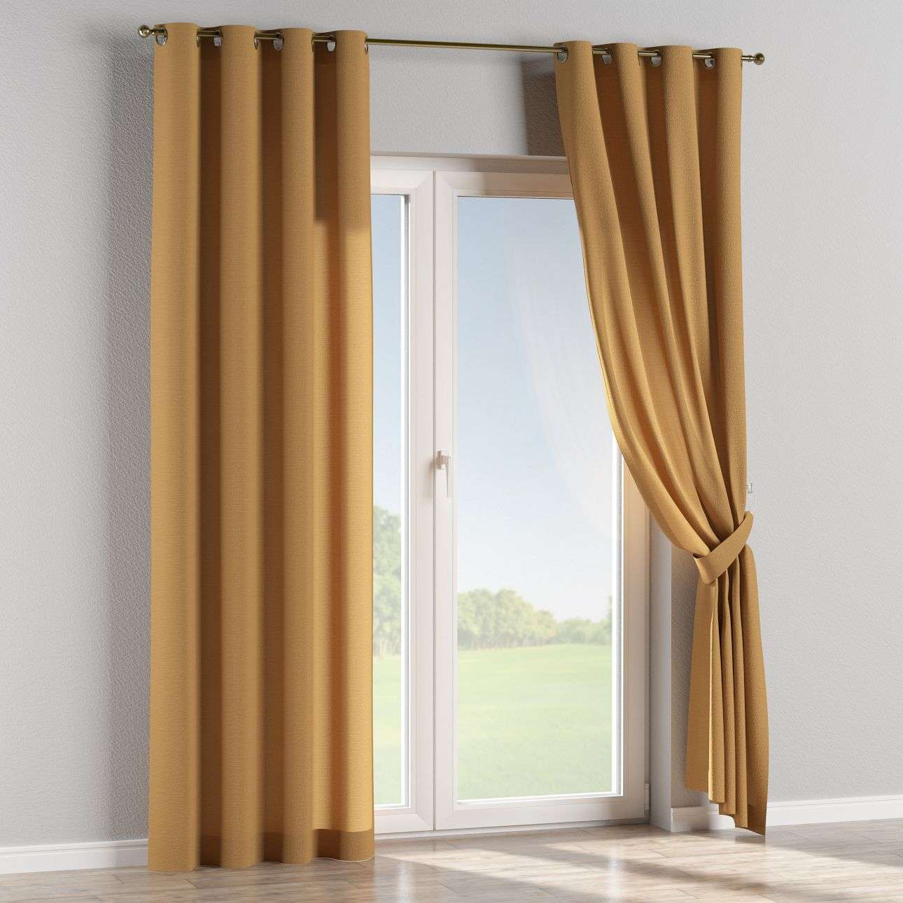 Eyelet curtains 130 x 260 cm (51 x 102 inch) in collection Loneta , fabric: 133-12