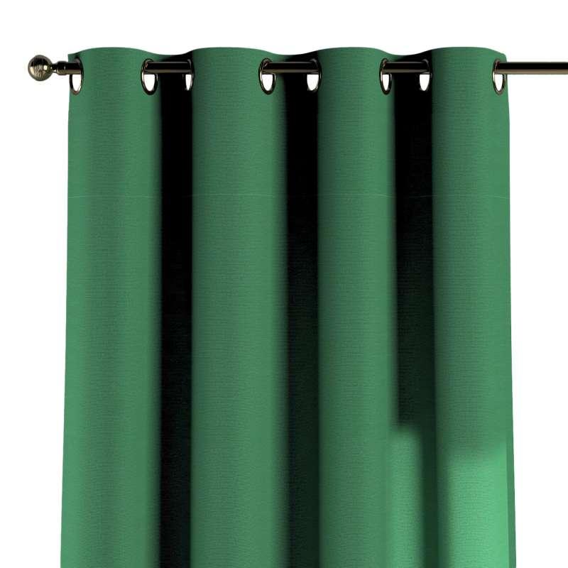 Gardin med öljetter 1 längd i kollektionen Loneta, Tyg: 133-18