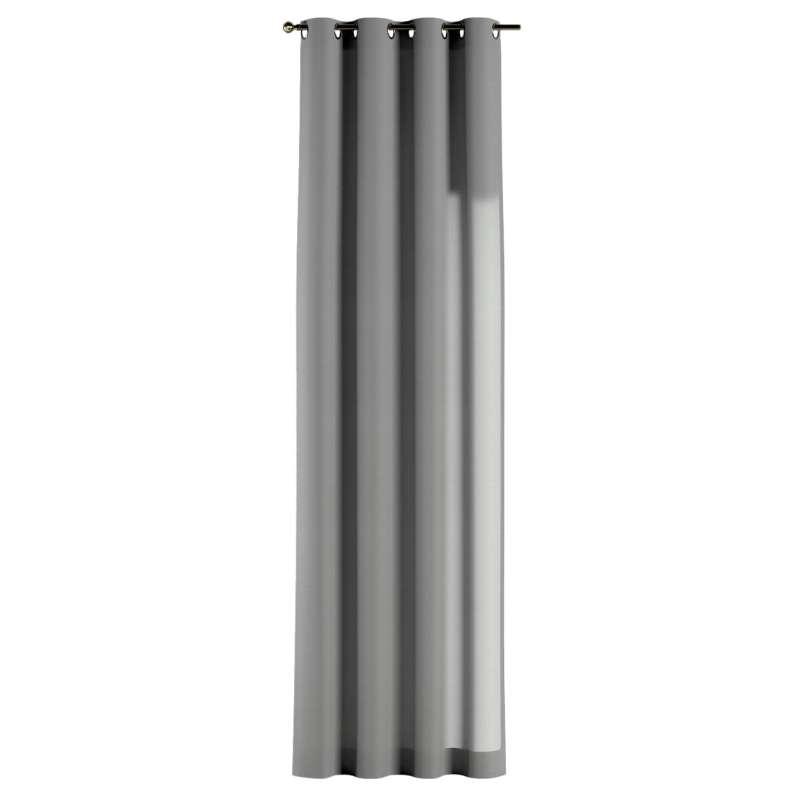Gardin med öljetter 1 längd i kollektionen Loneta, Tyg: 133-24
