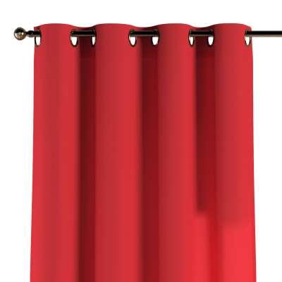 Záves s kolieskami 133-43 červená Kolekcia Loneta