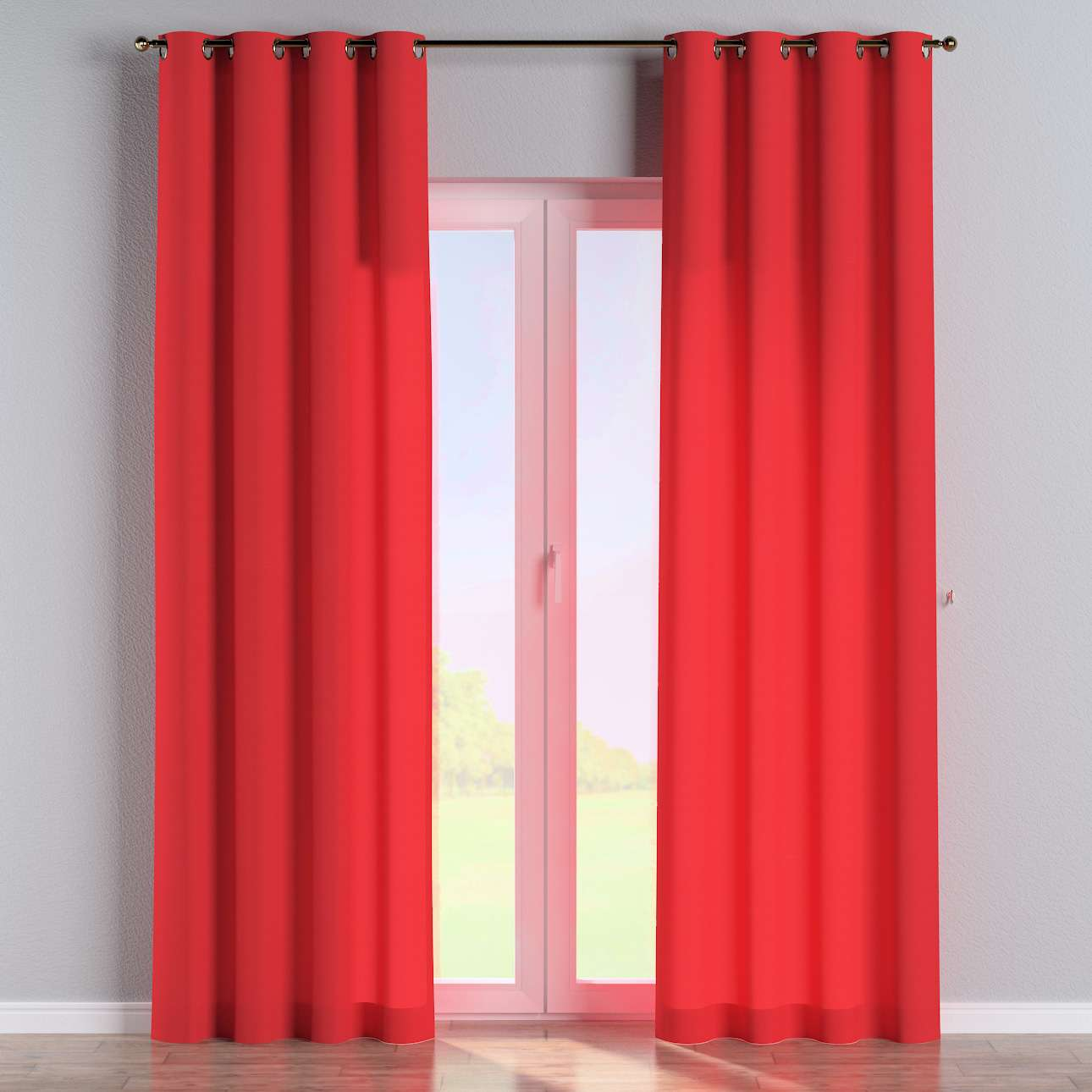 Eyelet curtains 130 x 260 cm (51 x 102 inch) in collection Loneta , fabric: 133-43