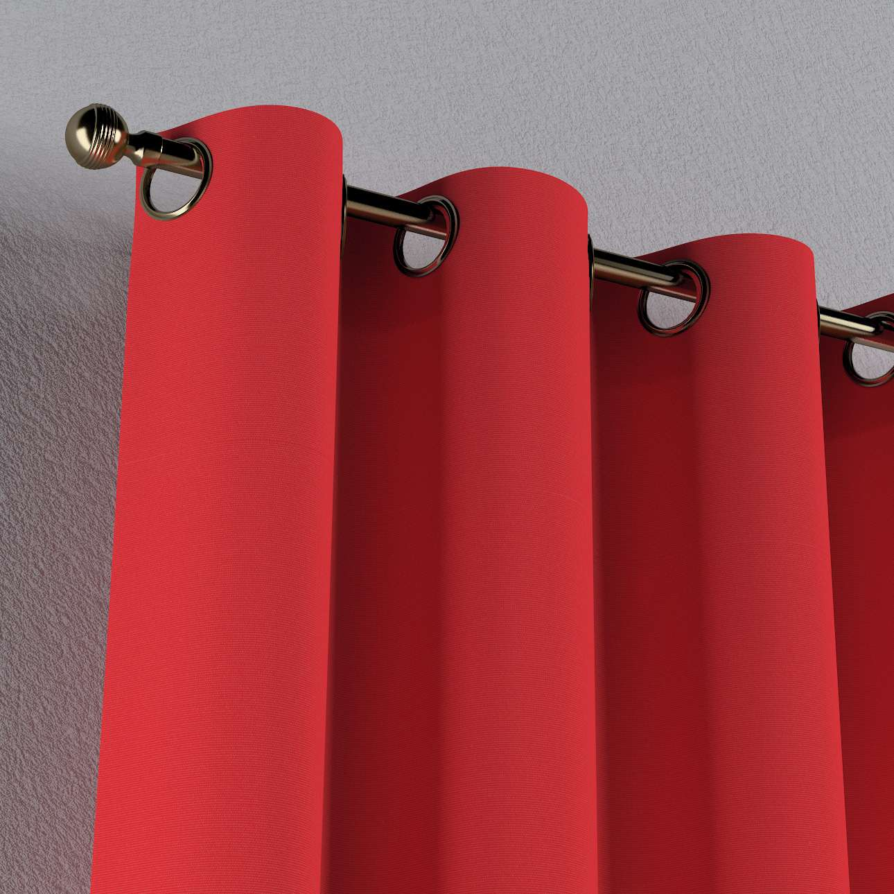 Žiedinio klostavimo užuolaidos 130 x 260 cm (plotis x ilgis) kolekcijoje Loneta , audinys: 133-43
