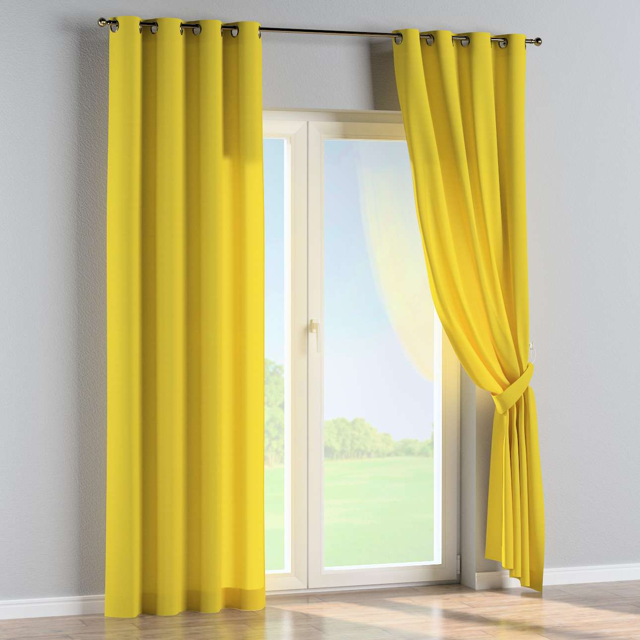Eyelet curtains 130 x 260 cm (51 x 102 inch) in collection Loneta , fabric: 133-55