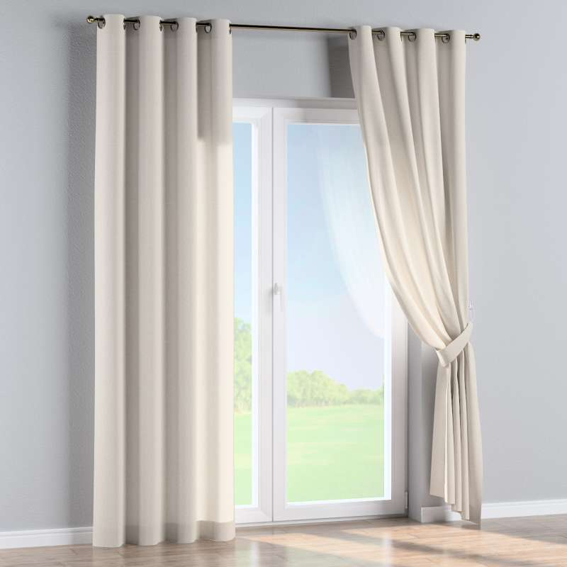 Eyelet curtain in collection Loneta , fabric: 133-65