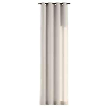 Gardin med öljetter 1 längd 130 x 260 cm i kollektionen Loneta , Tyg: 133-65