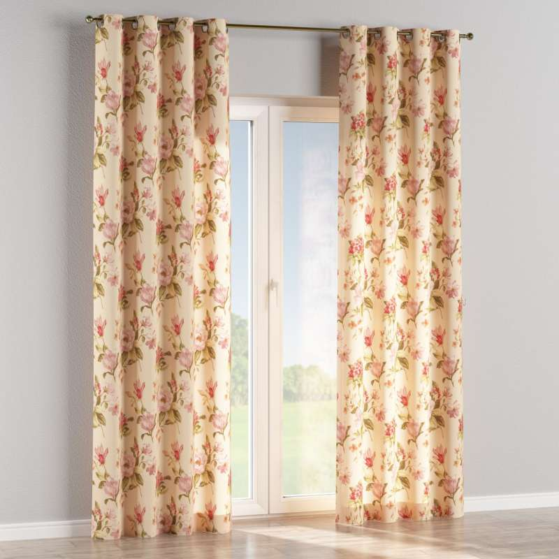 Eyelet curtain in collection Londres, fabric: 123-05