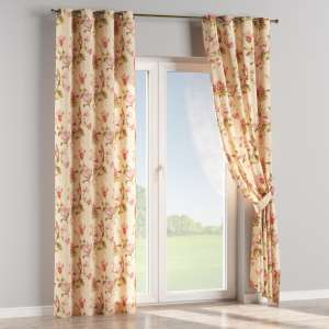 Eyelet curtains 130 x 260 cm (51 x 102 inch) in collection Londres, fabric: 123-05
