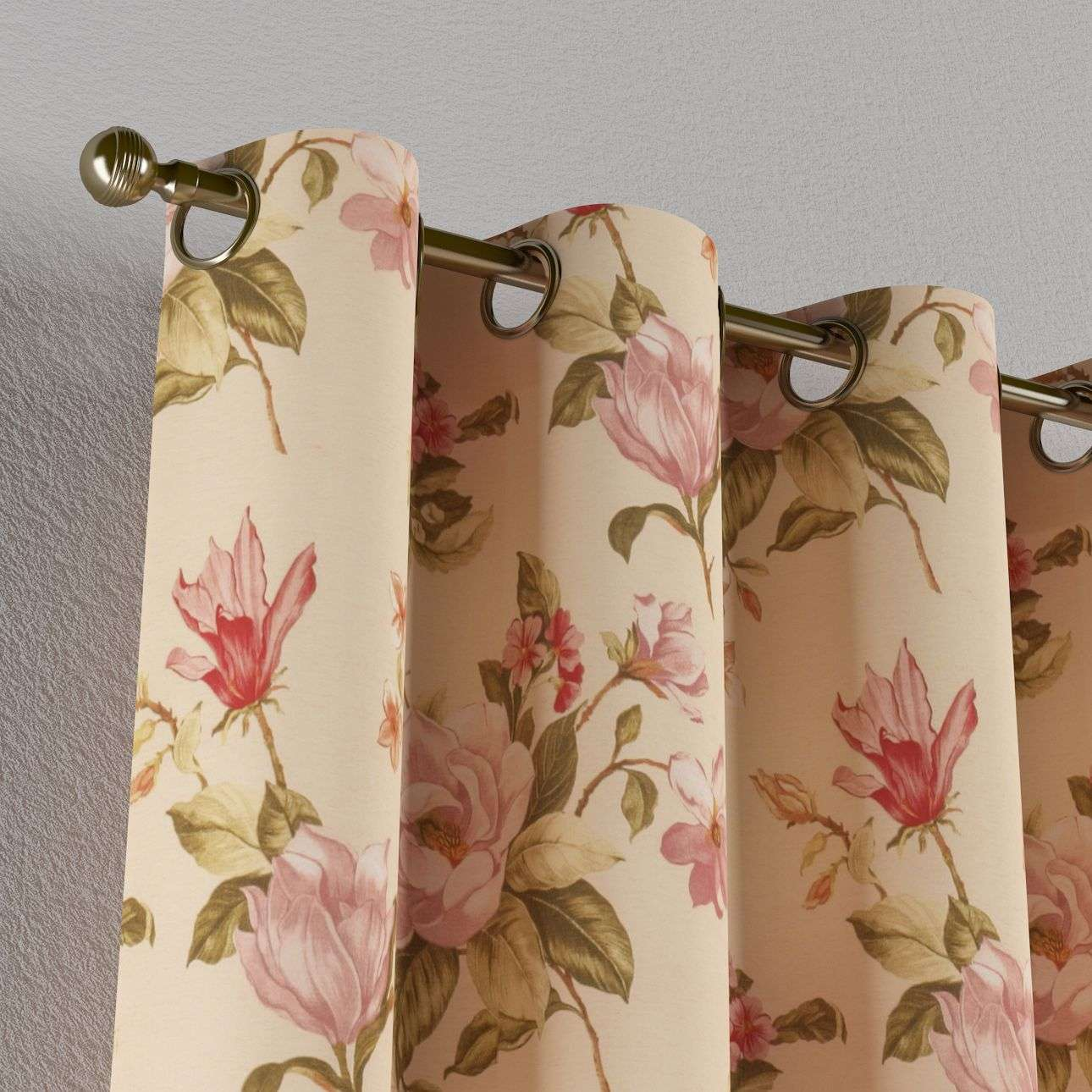 Eyelet curtains in collection Londres, fabric: 123-05