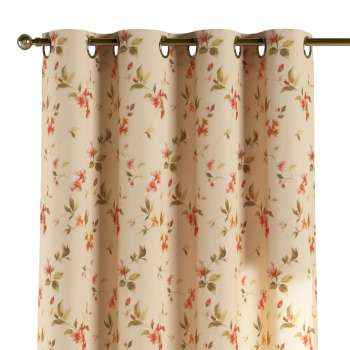 Eyelet curtains 130 × 260 cm (51 × 102 inch) in collection Londres, fabric: 124-05