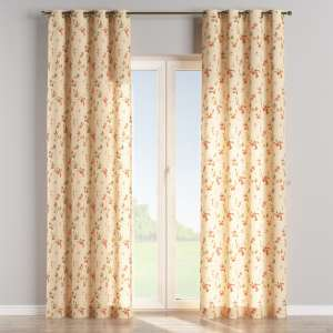 Eyelet curtains 130 x 260 cm (51 x 102 inch) in collection Londres, fabric: 124-05