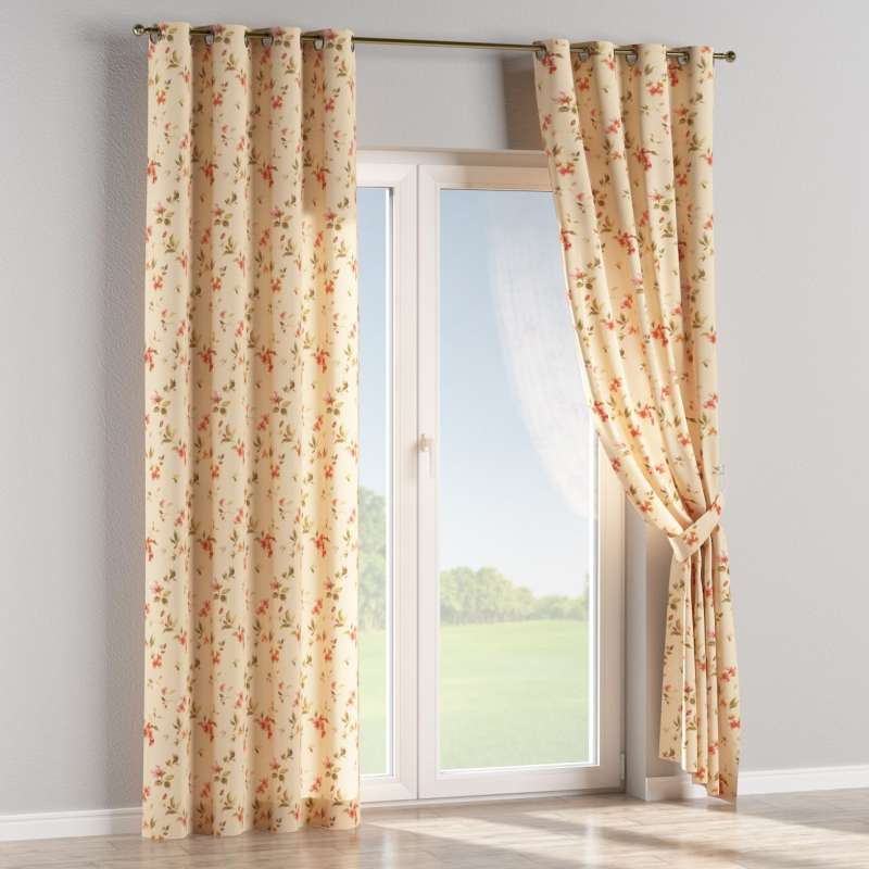 Eyelet curtain in collection Londres, fabric: 124-05