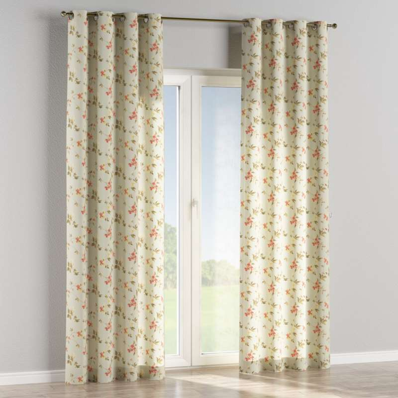 Eyelet curtain in collection Londres, fabric: 124-65