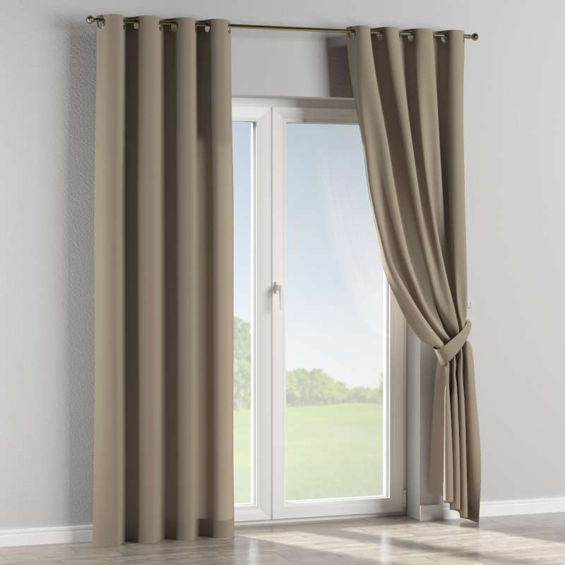 Eyelet curtain in collection Panama Cotton, fabric: 702-28