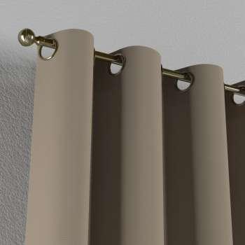 Gardin med maljer 1 stk. 130 x 260 cm fra kolleksjonen Cotton Panama, Stoffets bredde: 702-28