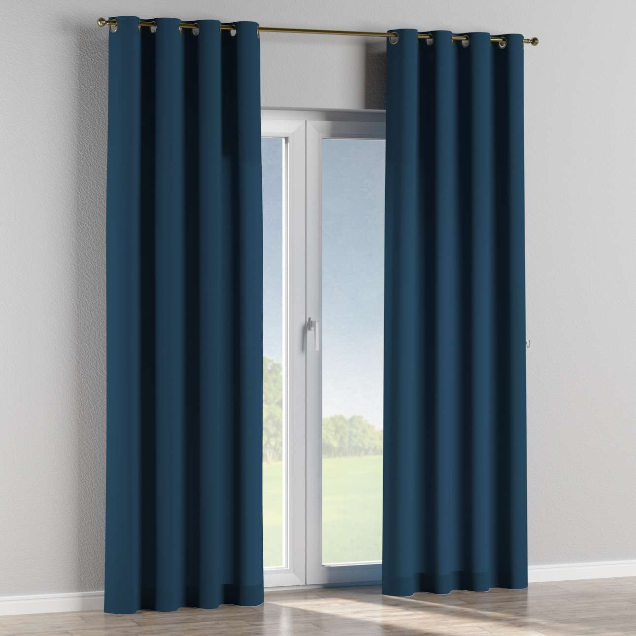 Eyelet curtains 130 x 260 cm (51 x 102 inch) in collection Panama Cotton, fabric: 702-30