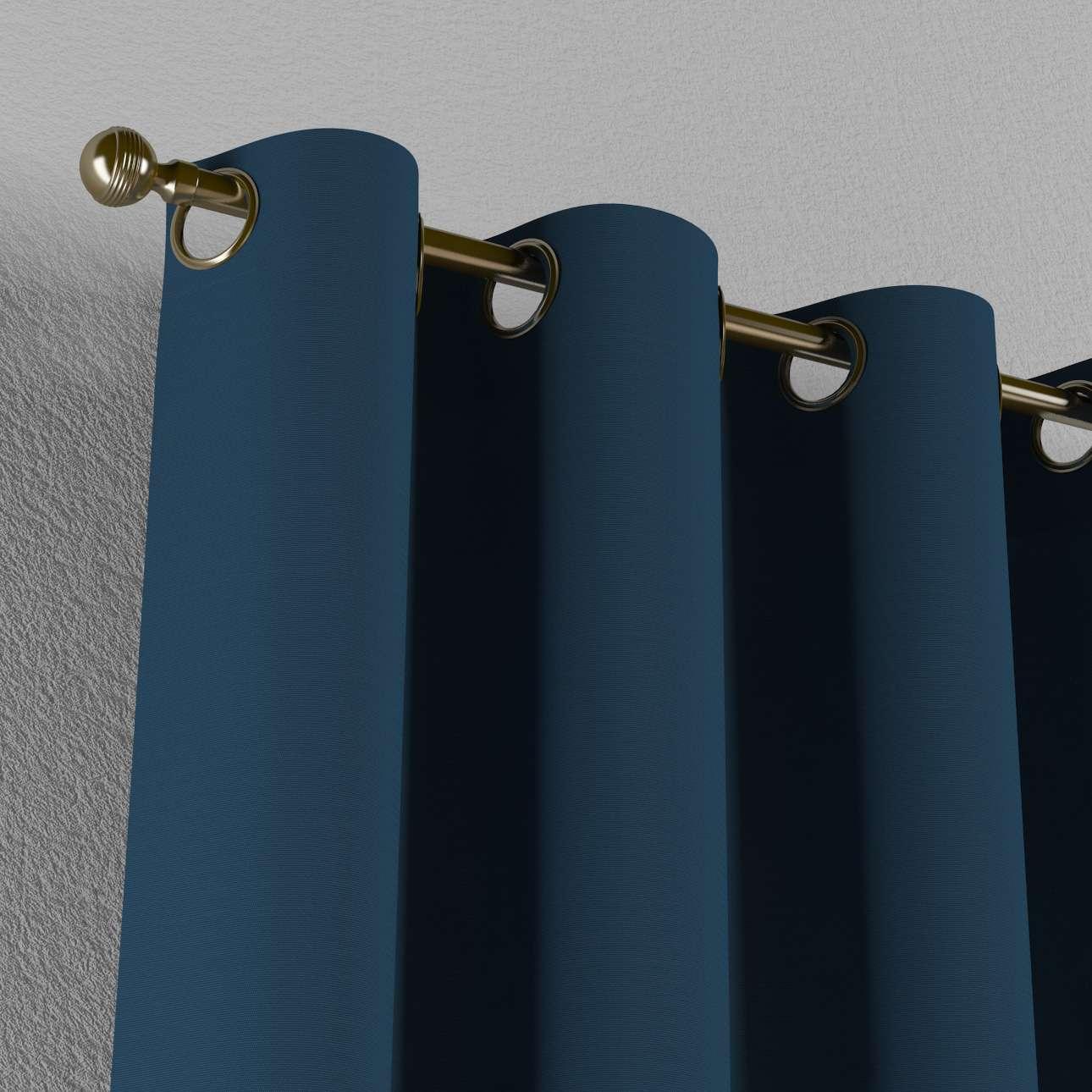 Gardin med maljer 1 stk. 130 x 260 cm fra kolleksjonen Cotton Panama, Stoffets bredde: 702-30
