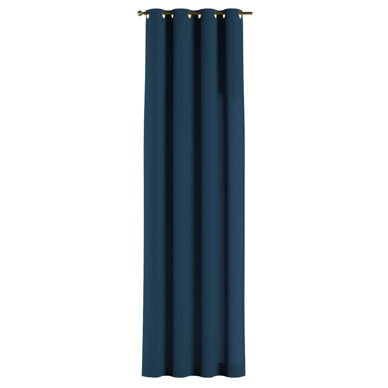 Gardin med maljer 1 stk. 130 × 260 cm fra kolleksjonen Cotton Panama, Stoffets bredde: 702-30