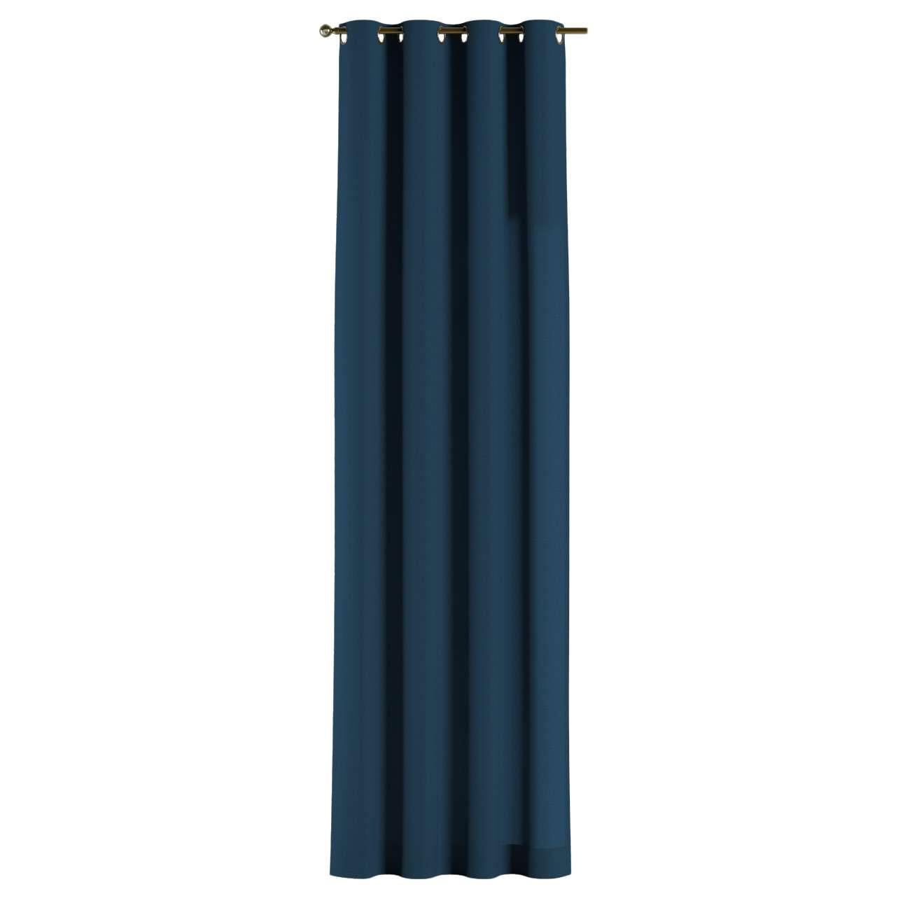 Gardin med öljetter 1 längd 130 × 260 cm i kollektionen Panama Cotton , Tyg: 702-30
