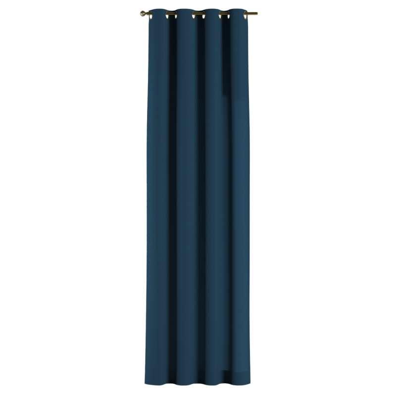 Gardin med öljetter 1 längd i kollektionen Panama Cotton, Tyg: 702-30