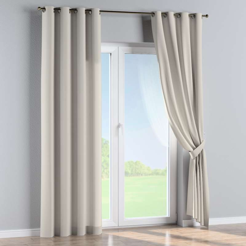 Eyelet curtain in collection Panama Cotton, fabric: 702-31