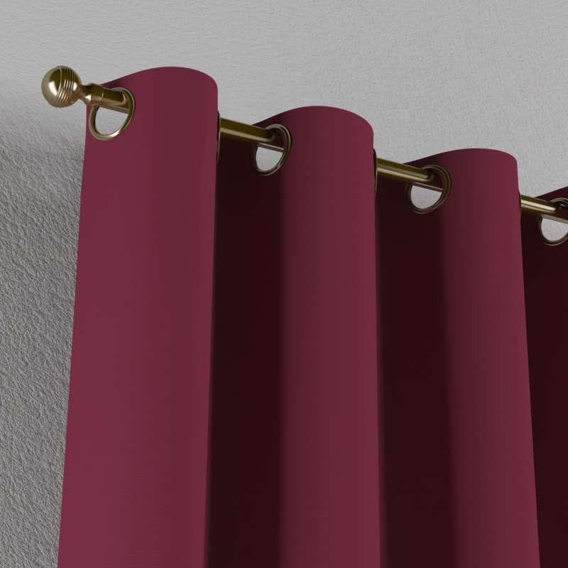Gardin med öljetter 1 längd i kollektionen Panama Cotton, Tyg: 702-32