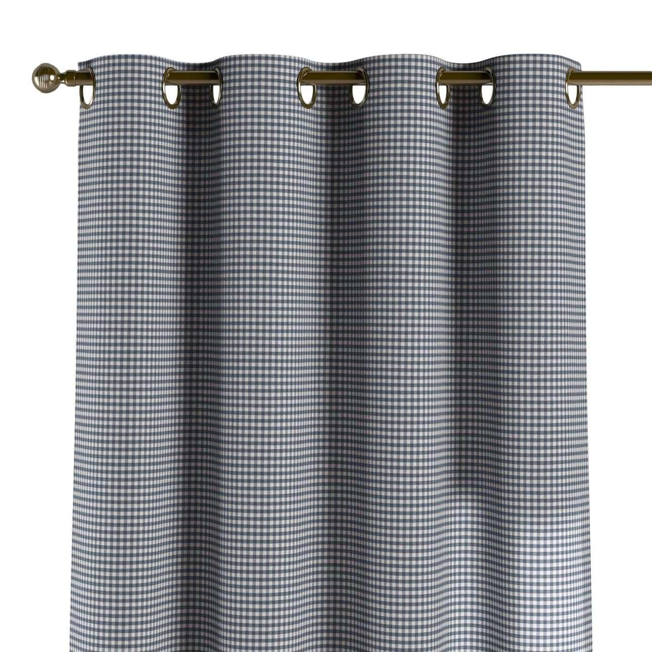 Závěs na kroužcích 130 x 260 cm v kolekci Quadro, látka: 136-00
