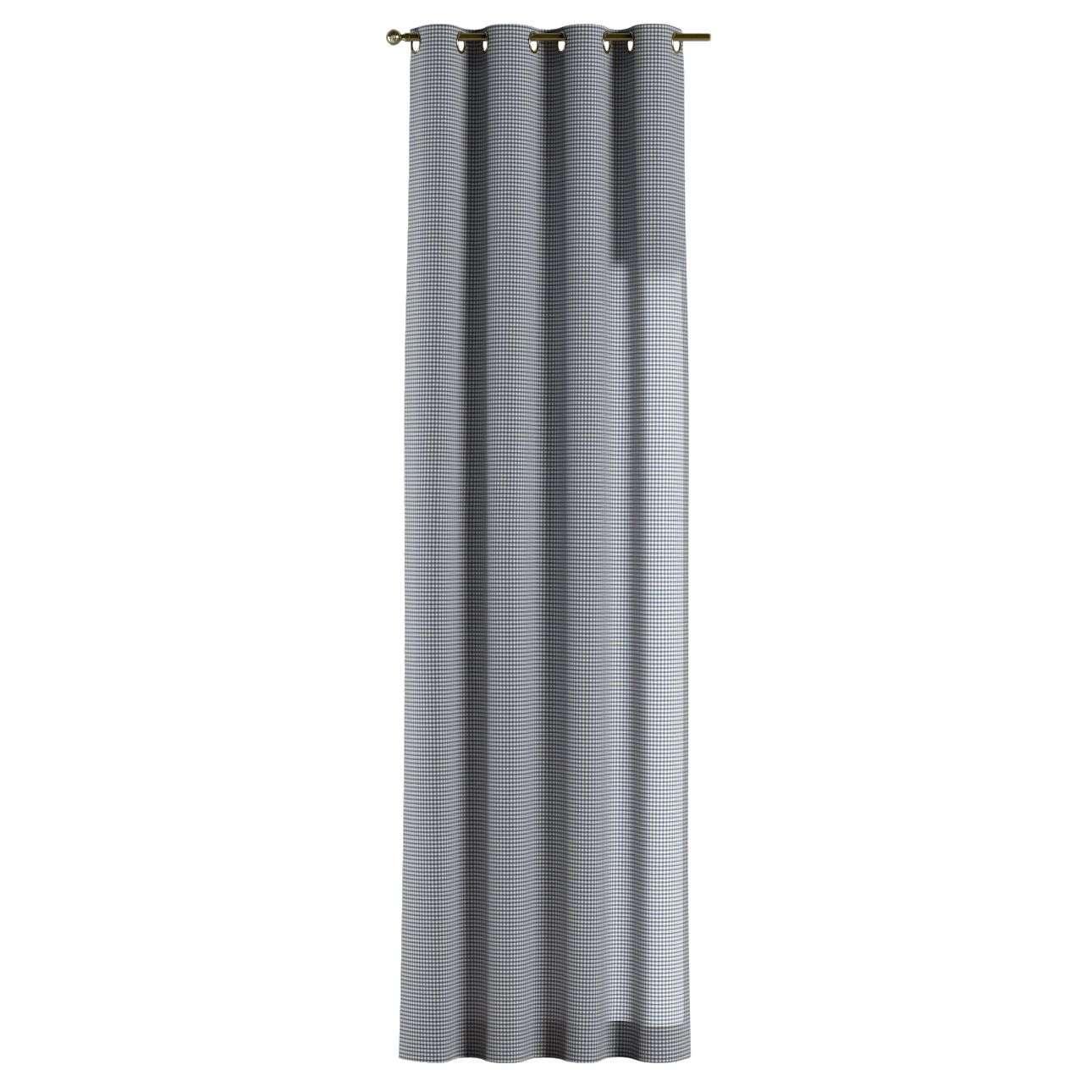 Žiedinio klostavimo užuolaidos 130 x 260 cm (plotis x ilgis) kolekcijoje Quadro, audinys: 136-00
