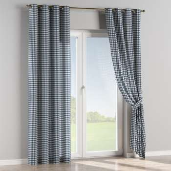 Eyelet curtains 130 x 260 cm (51 x 102 inch) in collection Quadro, fabric: 136-01