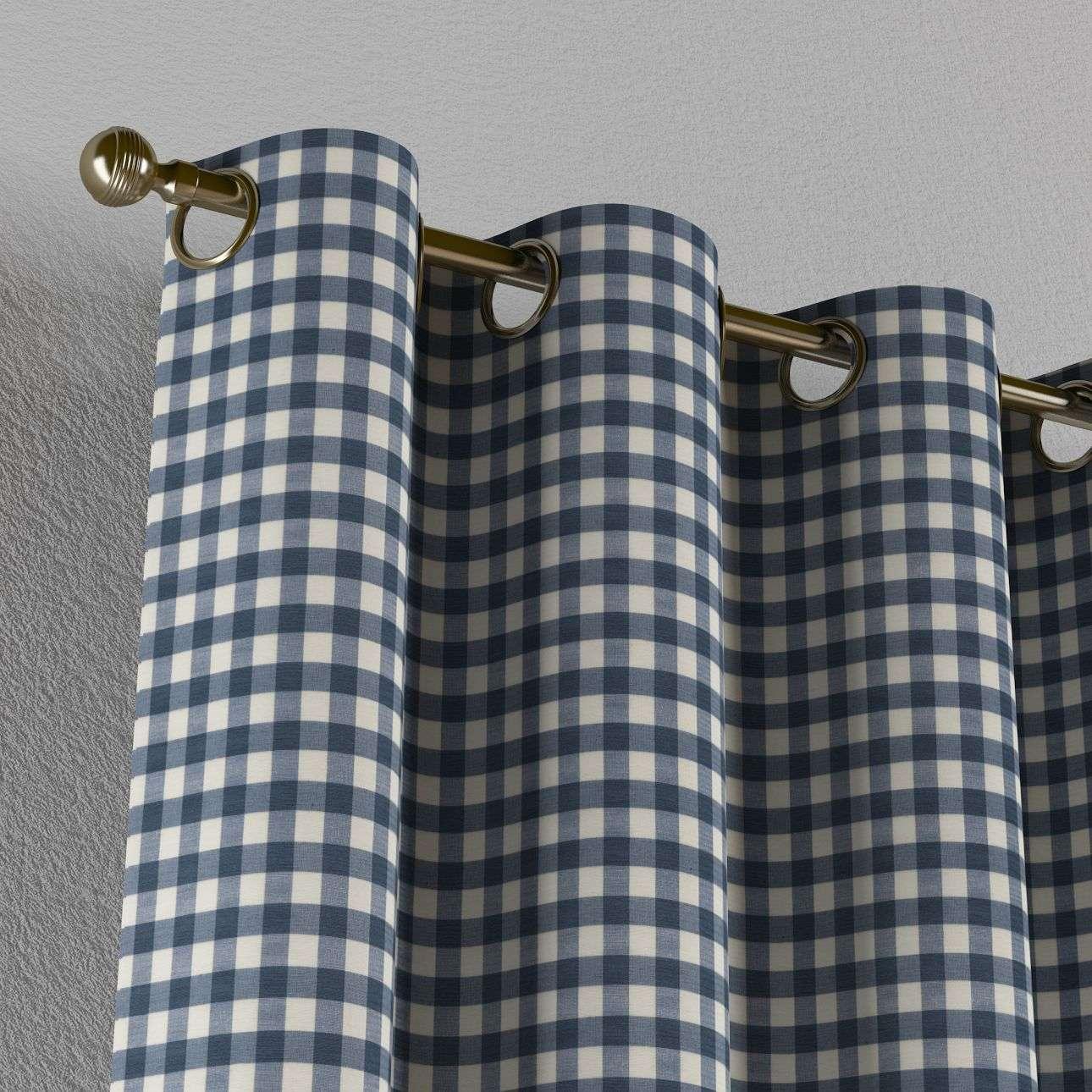 Zasłona na kółkach 1 szt. w kolekcji Quadro, tkanina: 136-01