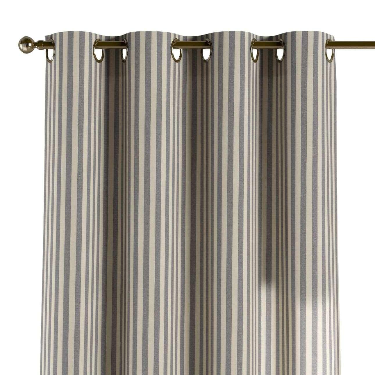 Žiedinio klostavimo užuolaidos 130 x 260 cm (plotis x ilgis) kolekcijoje Quadro, audinys: 136-02