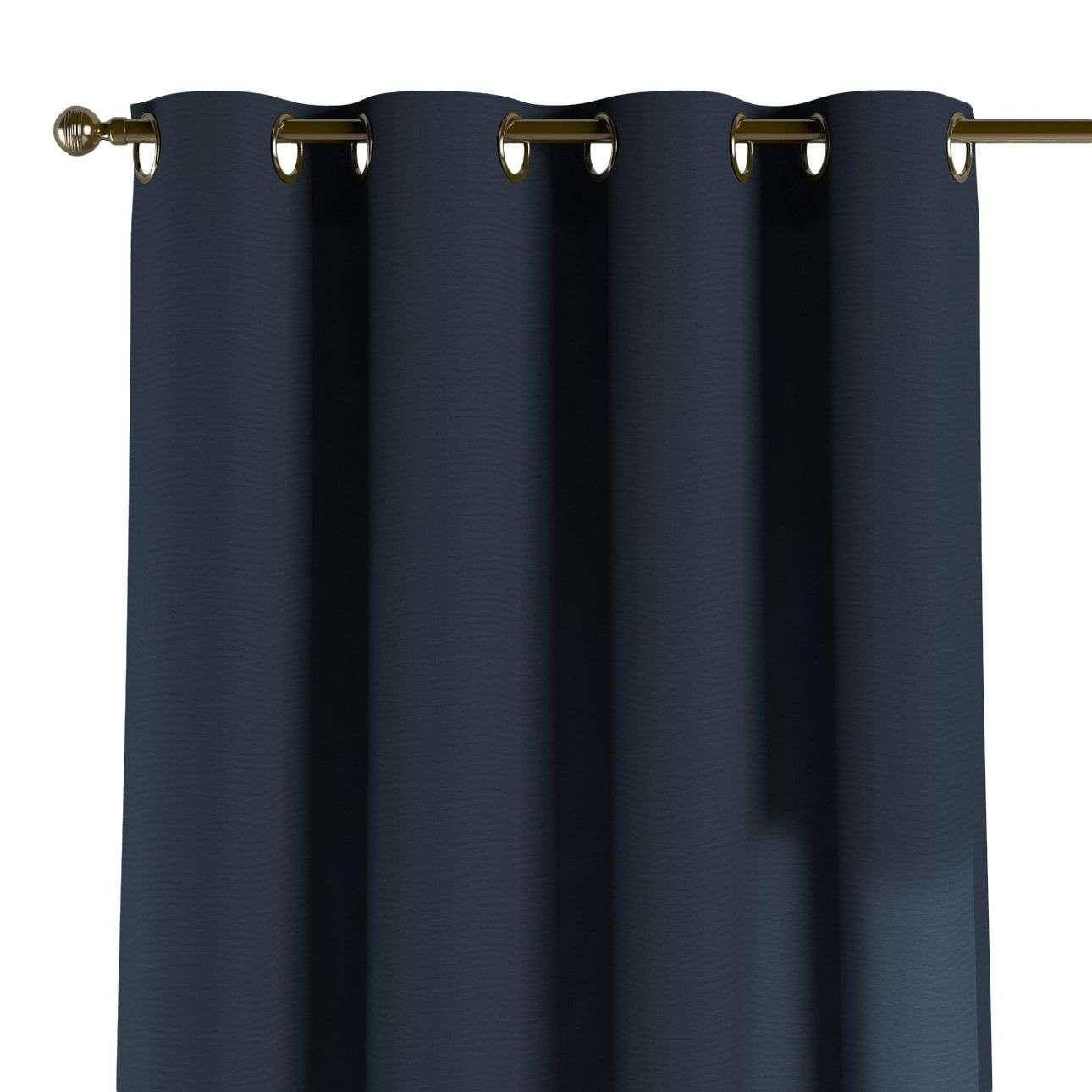 Závěs na kroužcích 130 x 260 cm v kolekci Quadro, látka: 136-04
