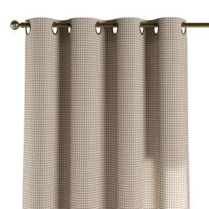 Gardin med maljer 1 stk. 130 x 260 cm fra kolleksjonen Quadro, Stoffets bredde: 136-05