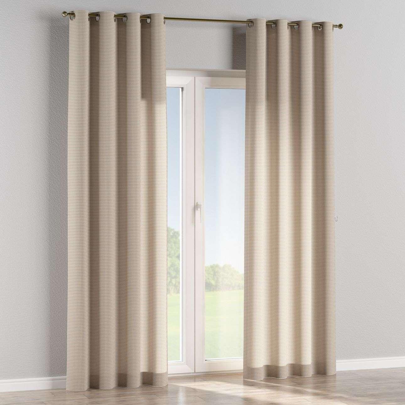 Ringlis függöny 130 x 260 cm a kollekcióból Lakástextil Quadro, Dekoranyag: 136-05