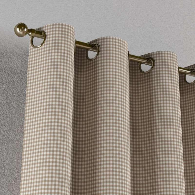 Zasłona na kółkach 1 szt. w kolekcji Quadro, tkanina: 136-05