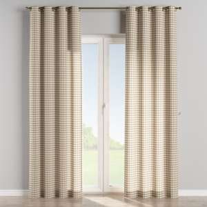 Eyelet curtains 130 x 260 cm (51 x 102 inch) in collection Quadro, fabric: 136-06