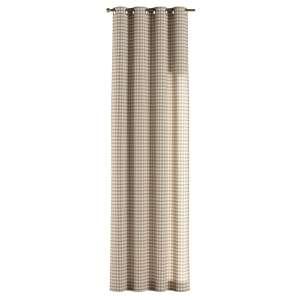 Zasłona na kółkach 1 szt. 1szt 130x260 cm w kolekcji Quadro, tkanina: 136-06