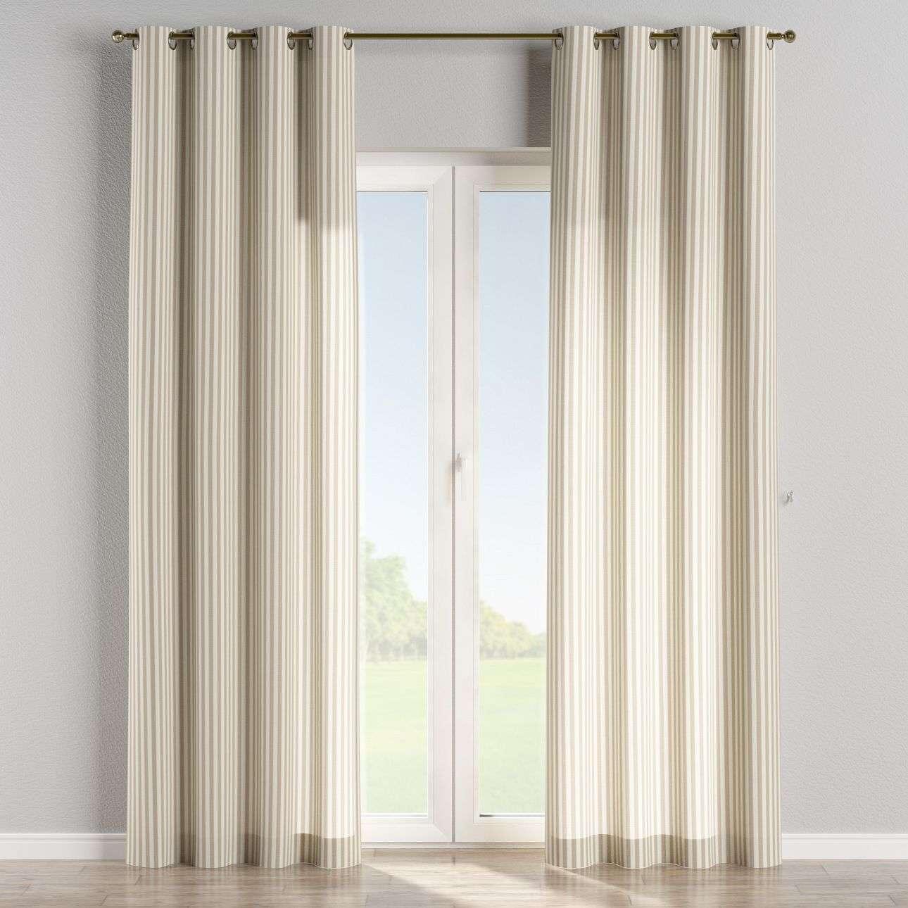 Ringlis függöny 130 x 260 cm a kollekcióból Lakástextil Quadro, Dekoranyag: 136-07