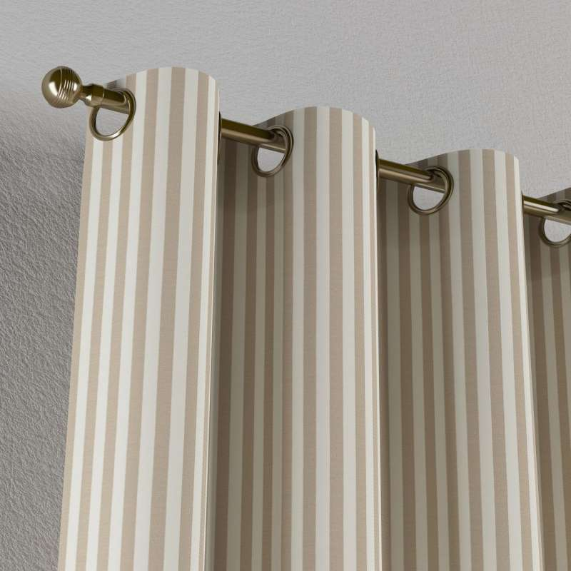Eyelet curtain in collection Quadro, fabric: 136-07