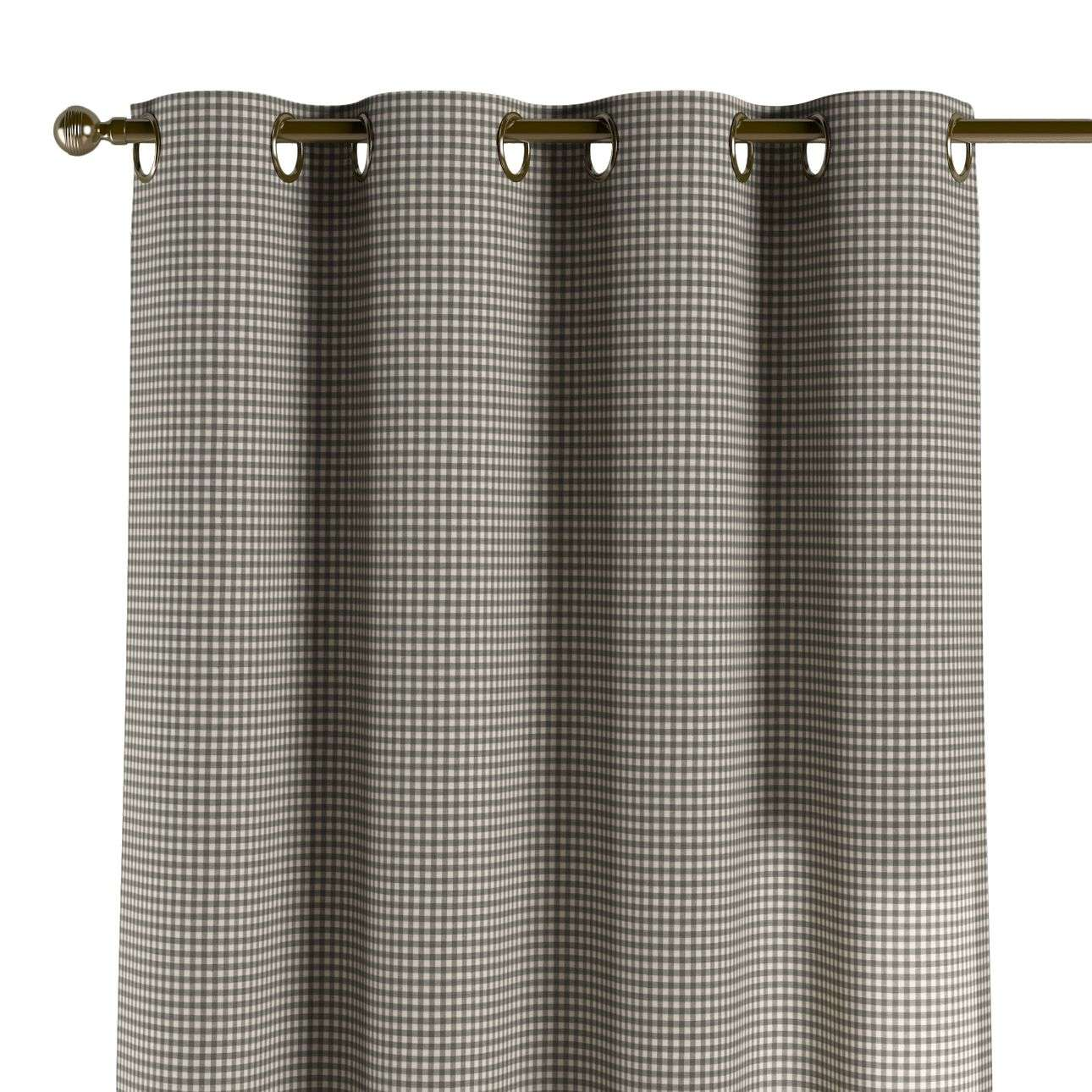 Eyelet curtains 130 x 260 cm (51 x 102 inch) in collection Quadro, fabric: 136-10