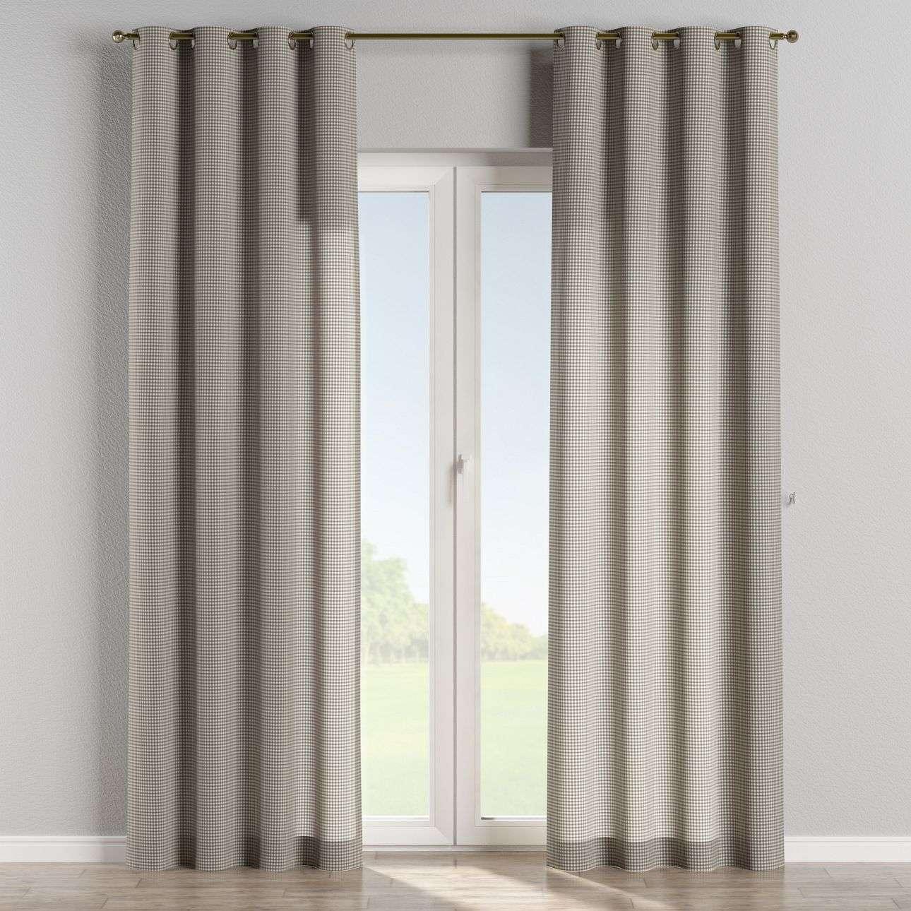 Ringlis függöny 130 x 260 cm a kollekcióból Lakástextil Quadro, Dekoranyag: 136-10